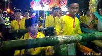 Anak-anak semangat ikut serta (Ferdi/detikcom)