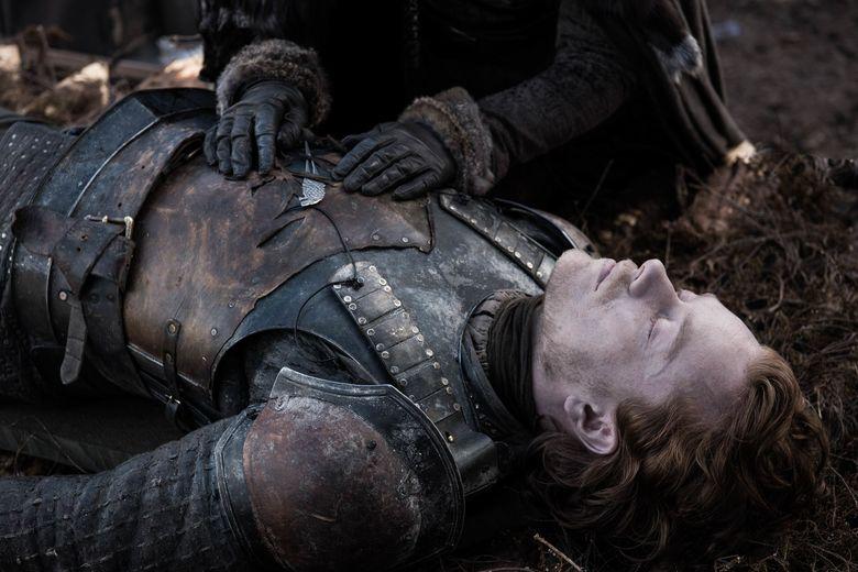 Usai perang paling epic dalam sejarah pertelevisian, Game of Thrones Season 8 Episode 4 menunjukan duka para pejuang yang kehilangan orang tercintanya.Dok. Helen Sloan/HBO