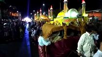 Potret Tradisi Arakan Sahur di Jambi Sambut Ramadhan