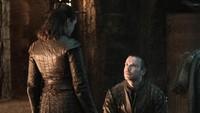 Lalu bagaimana kisah Arya (Maisie Williams) dan Gendry (Joe Dempsie), akankah mereka melanjutkan kisah asmaranya?Dok. Helen Sloan/HBO