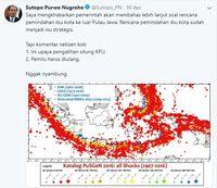 'Kalimantan ini Bersih, Gak Ada Jejak Gempa Bumi'