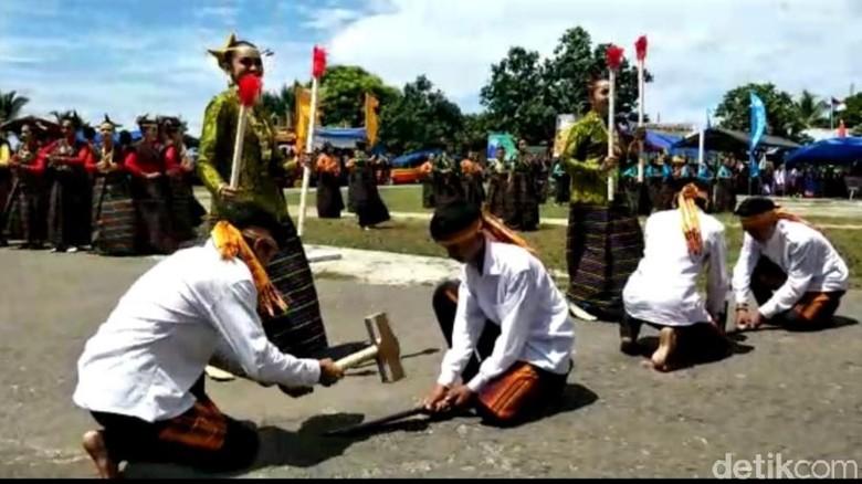 Festival Pulau Tukang Besi (Siti/detikcom)