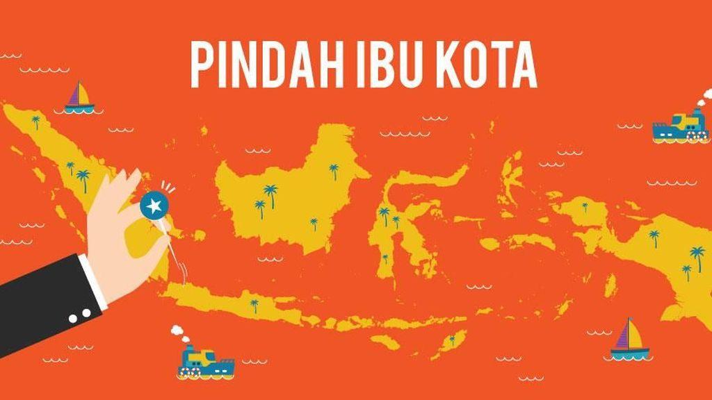 Ibu Kota RI Hampir Pasti Pindah ke Kalimantan