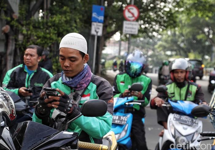 Driver Go-Jek. Foto: Pradita Utama