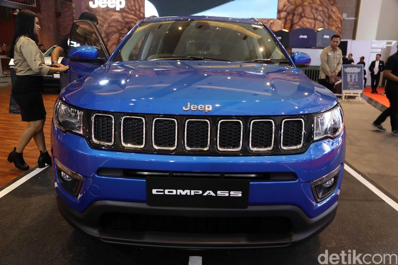 Jeep Compass. Foto: Pradita Utama
