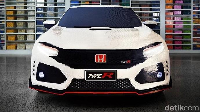 Mobil Honda dari Mainan Lego