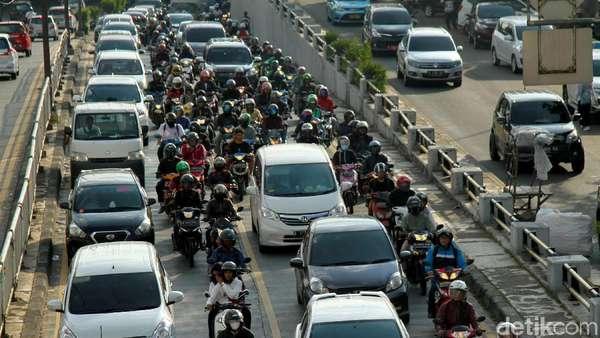 Dishub: Motor Membludak Tak Berimbas Besar ke Polusi Udara Jakarta