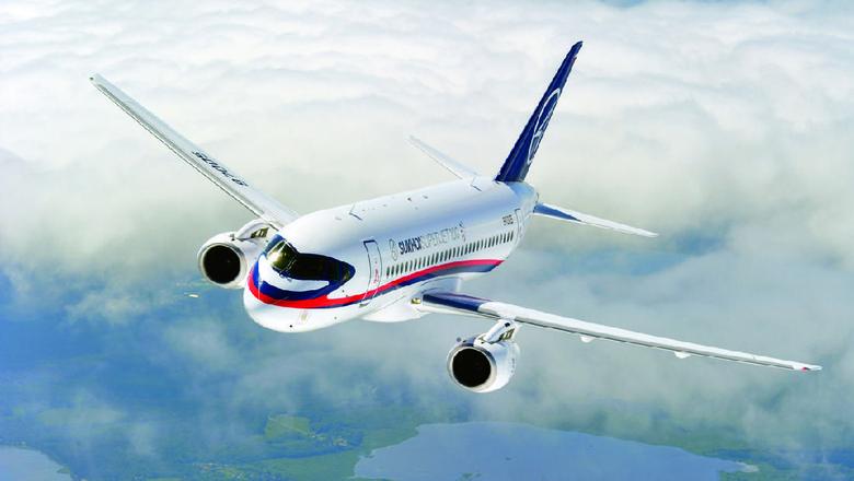 Ilustrasi Sukhoi Superjet 100 (dok. Sukhoi)