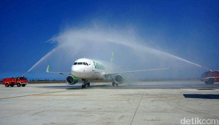 Rute perdana yang dibuka adalah Bandara Halim Perdanakusuma Jakarta-YIA oleh Citilink. Dok. AP 1.