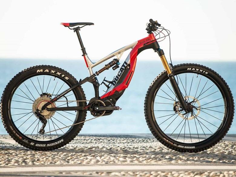 Sepeda listrik Ducati MIG-RR E-MTB Foto: Dok. Ducati