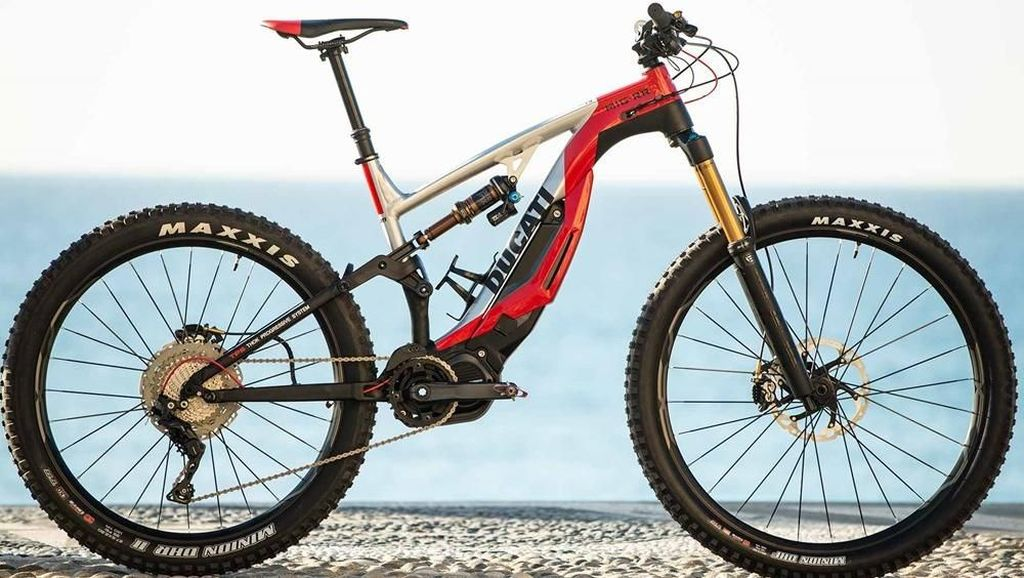 Sepeda Listrik Ducati Dilepas Rp 100 Jutaan, Mau?