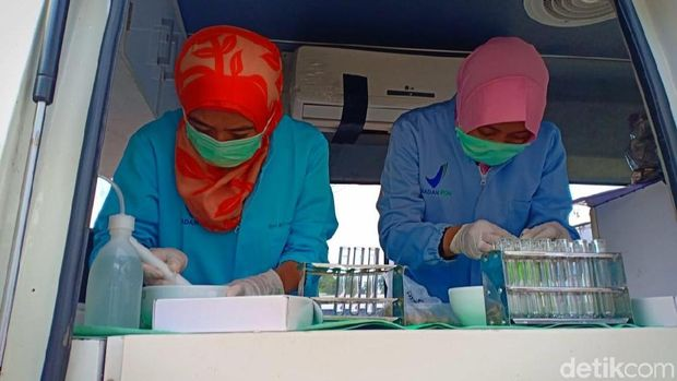 Cek Makanan Mengandung Zat Berbahaya, BPOM Kendari Sidak Jajanan Takjil