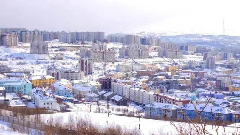 Kota Murmansk, Rusia (iStock)