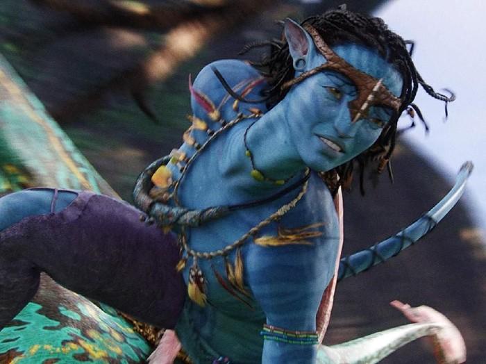 Penampilan Zoe Saldana di Avatar.