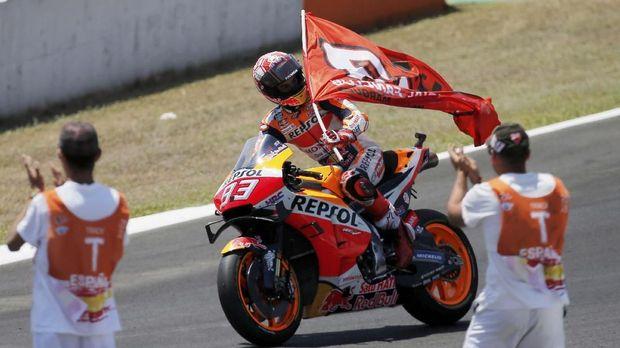 Marc Marquez kini memimpin klasemen MotoGP 2019.