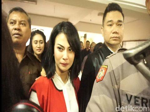 Vanessa Angel saat di Surabaya/