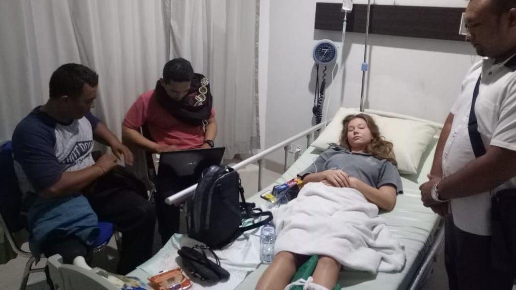 Teman Wanita DJ Adam Sky Alami Patah Tulang, Masih Dirawat di RS