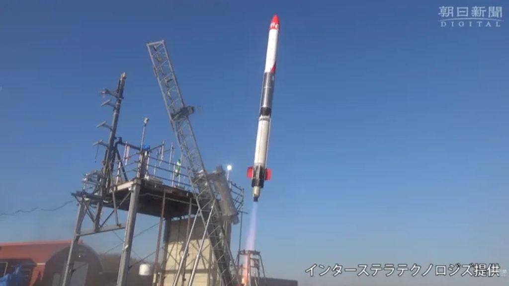 Roket Privat Pertama dari Jepang Berhasil Mengangkasa