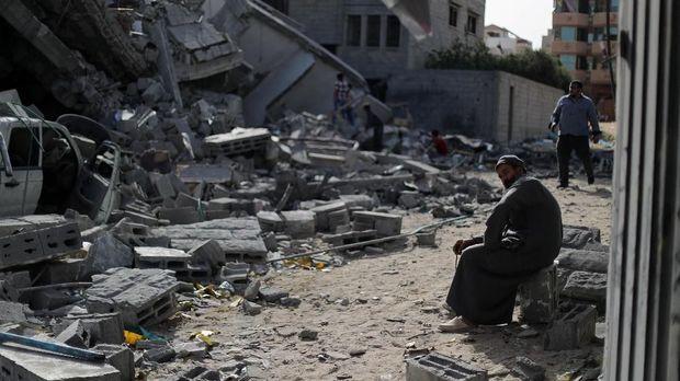 Kondisi di Gaza pada 6 Mei 2019 /
