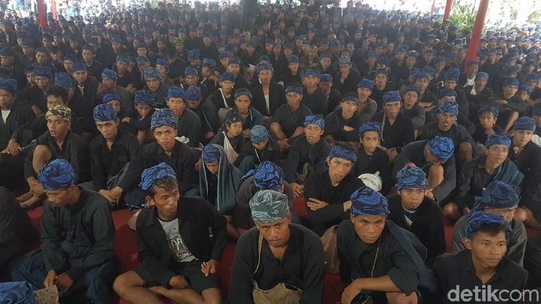 Suku Baduy kembali menagih janji soal tanah ulayat yang dijanjikan pemerintah daerah