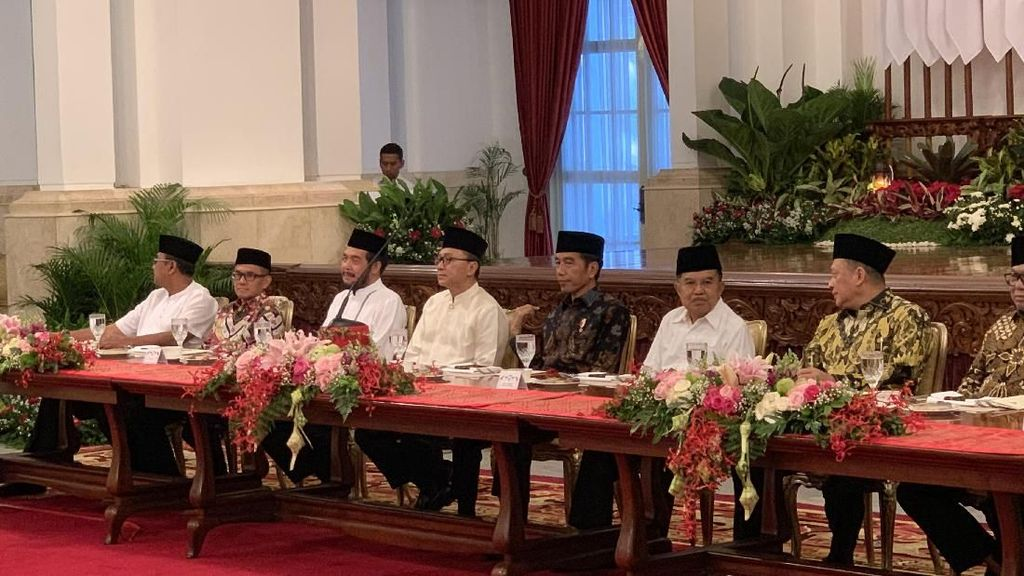 Di Depan Fahri Hamzah Cs, Jokowi: Kita Serius Pindahkan Ibu Kota