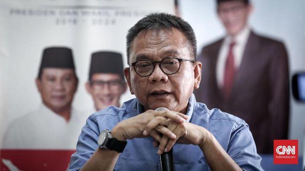 Wakil Ketua DPRD DKI Jakarta sekaligus politikus Gerindra Mohamad Taufik.