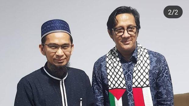 Andre Taulany dan Ustaz Adi Hidayat