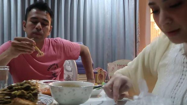 Nagita Slavina Kegirangan Bisa Sahur Pertama di Rumah Bareng Raffi