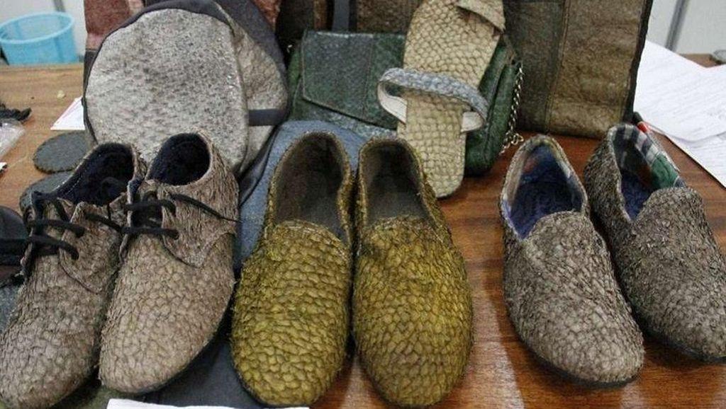 Keren! Di Kenya, Kulit Ikan Disulap Jadi Sepatu Hingga Jaket