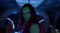 Kemudian ia tampil dalam Avengers: Infinity War dan Endgame sebagai Gamora.Dok. Disney Pictures