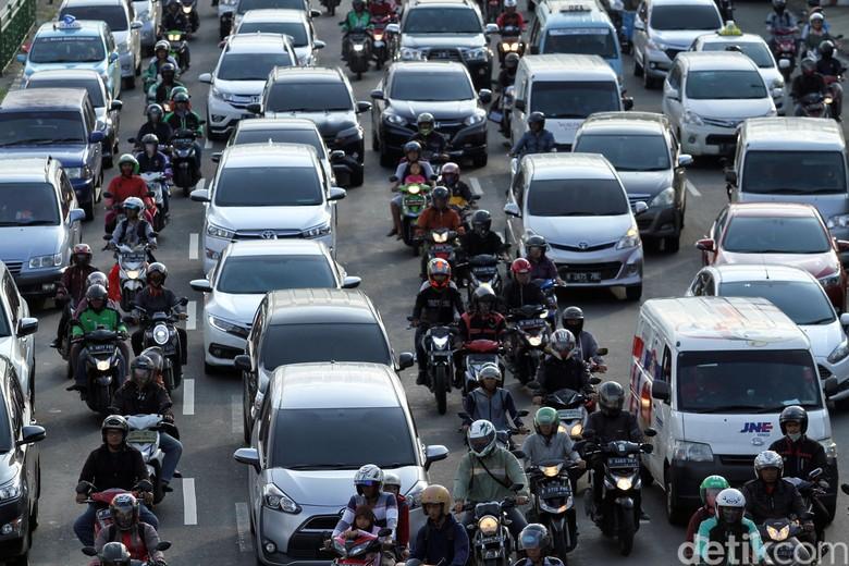 Ilustrasi kemacetan di Ibu Kota Jakarta. Foto: Rifkianto Nugroho