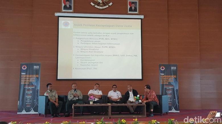 Diskusi Kesiapsiagaan Bencana Sektor Perhotelan untuk Industri Pariwisata (Syanti/detikcom)