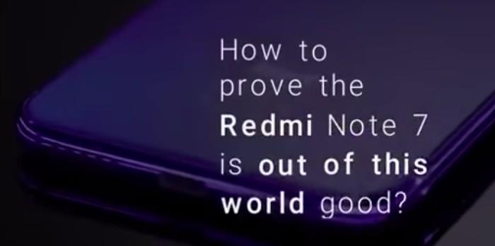 Pengujian Redmi Note 7. Foto: screenshot YouTube