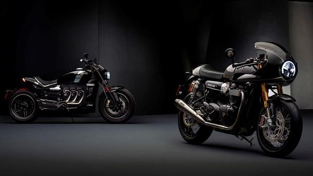 Triumph Rocket TFC and Triumph Thruxton TFC
