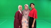 Di Malaysia, Ayana tampil dalam program televisi.Dok. Instagram/xolovelyayana