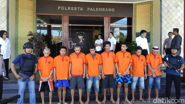 8 Tahanan Kabur dari Polresta Palembang Ditangkap, 22 Masih Buron