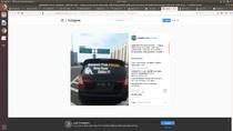 Viral Sopir Mobil Berstiker Ampun Pak Polisi Uang Kami Habis Ditilang