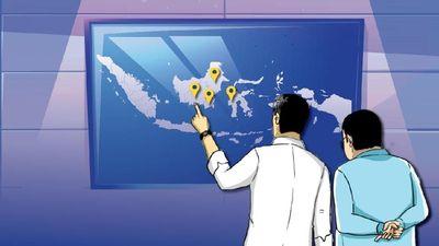 Jokowi Pilih Lokasi Calon Ibu Kota Baru