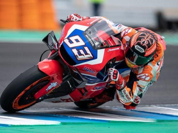 Marc Marquez tampil dengan motor baru di tes MotoGP Jerez (HRC)