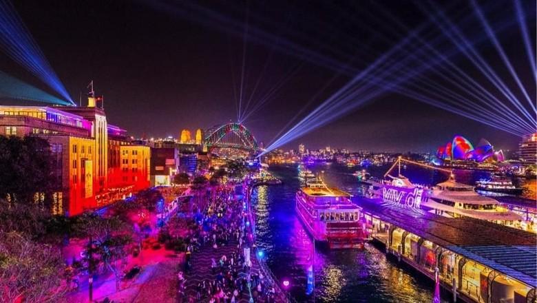 Terpukau instalasi Vivid light di seluruh Kota Sydney (Foto: dok. Destination NSW)