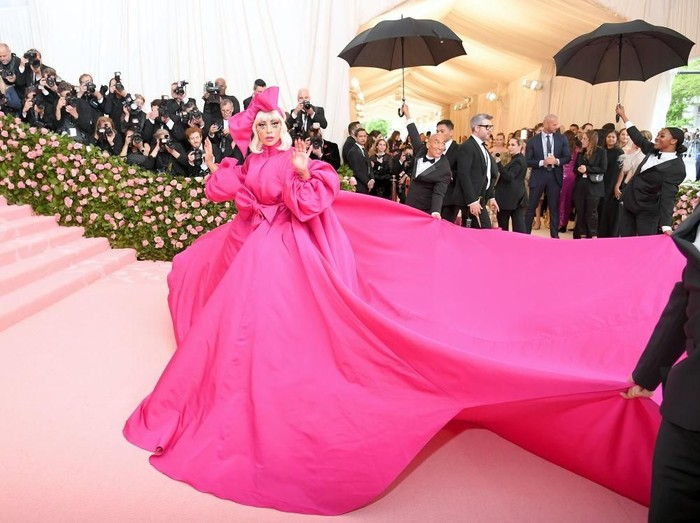 Lady Gaga di MET Gala 2019. (Foto: Getty Images)