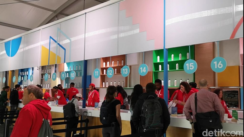 Tepat sebelum digelarnya Google I/O, di Mountain View, California, Amerika Serikat baru menjalankan puasa hari pertama. (Foto: detikINET/Agus Tri Haryanto)