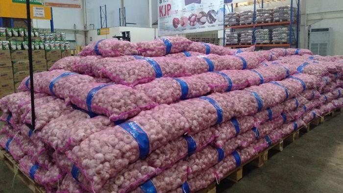 Ilustrasi bawang putih. Foto: arief/detikcom