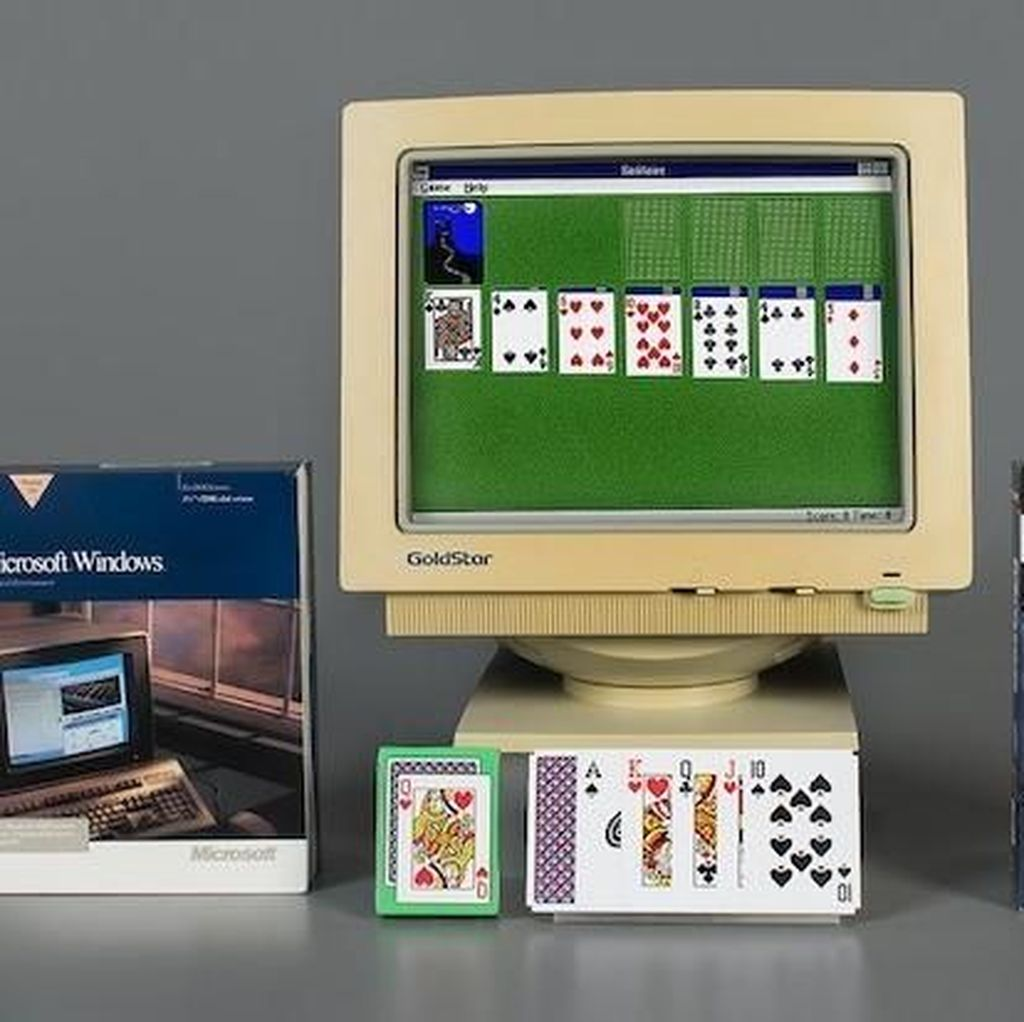 Solitaire Masuk Hall of Fame Video Game