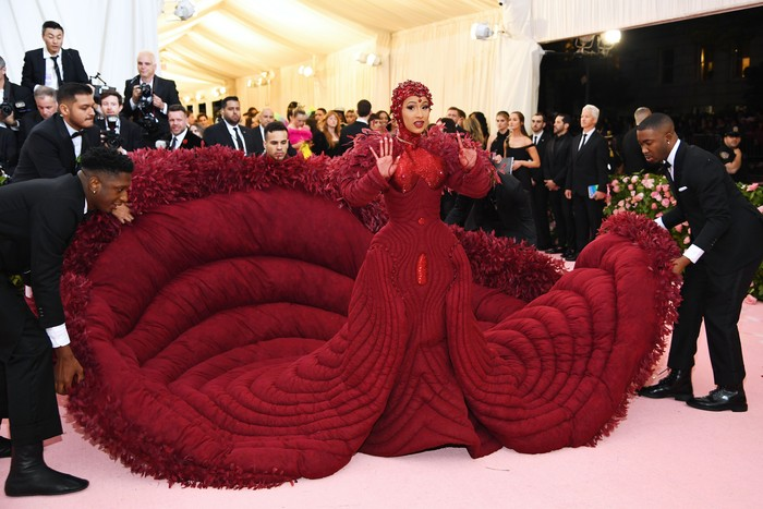 Cardi B di MET Gala 2019. (Foto: Dimitrios Kambouris/Getty Images for The Met Museum/Vogue)