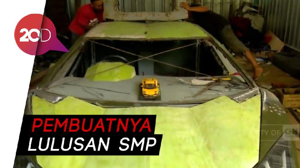 Wow, Ada Lamborghini Made In Gunung Kidul, Lho!