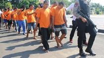 Polres Indramayu Ringkus 16 Maling Spesialis Rumah Kosong