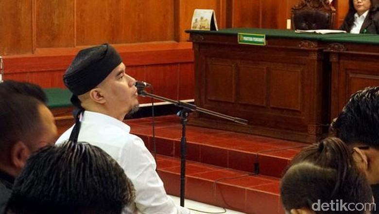 Ini 6 Permohonan Ahmad Dhani ke Hakim Atas Tuntutan 18 Bulan Penjara