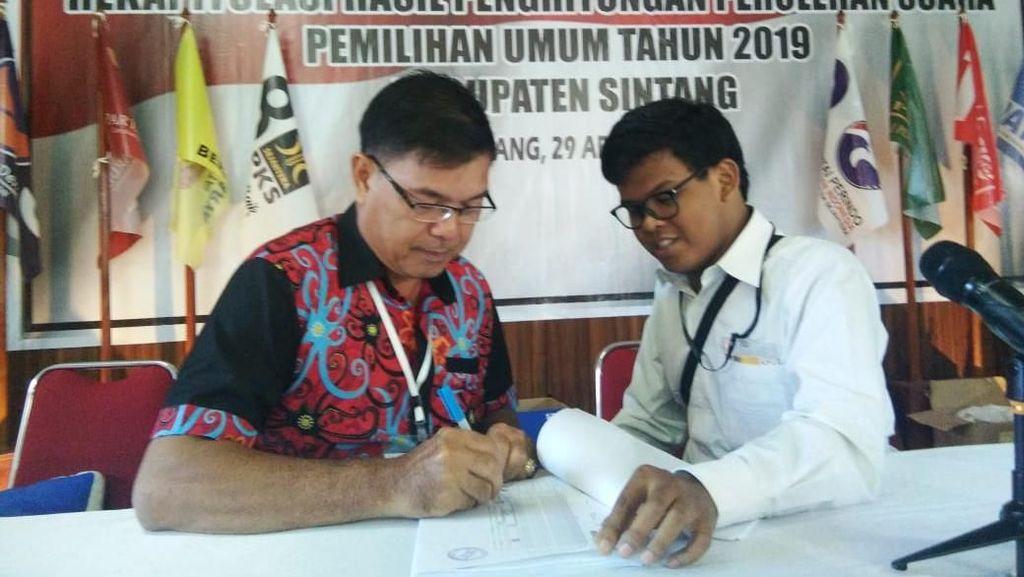 Ketua DMI Sintang Bersyukur Pleno Pemilu 2019 Berjalan Kondusif