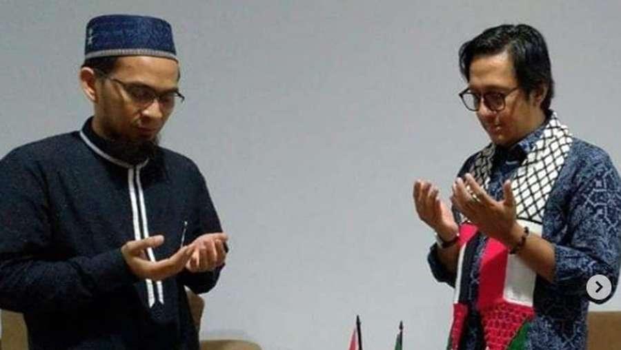 Damai Itu Indah! Momen Andre Taulany Meminta Maaf ke Ustaz Adi Hidayat